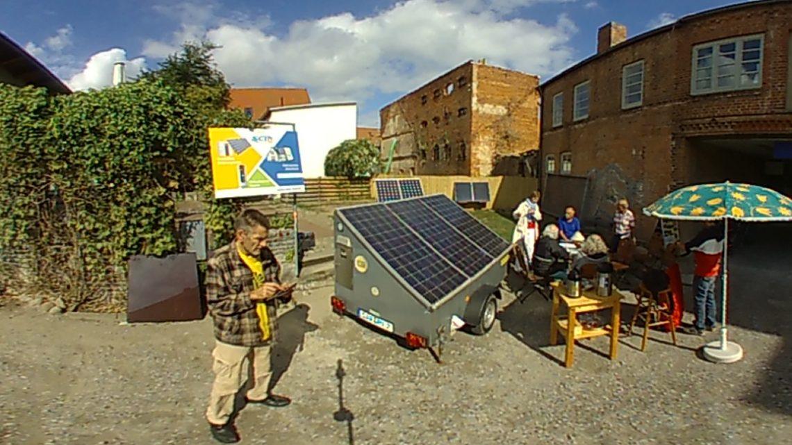 Was mit zwei Solarmodulen alles geht